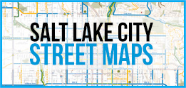 Salt Lake City Street Maps