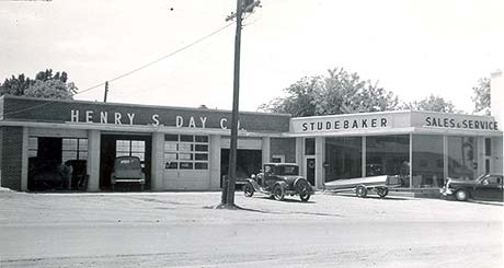 Henry S. Day Studebaker Sales Room